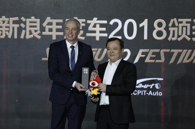 WEY VV7获2018年度自主车型奖