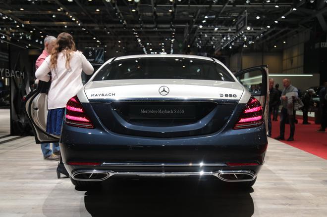 2018日内瓦车展:奔驰新款迈巴赫S级亮相