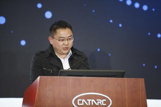 江淮汽车技术中心CAE模块设计部技术总监张雷发言