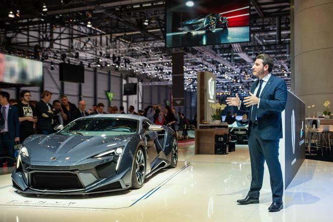 W Motors携超跑Fenyr SuperSport日内瓦车展首发