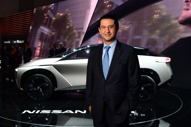日产汽车有限公司CPO首席绩效官何塞·穆诺兹在日内瓦车展上