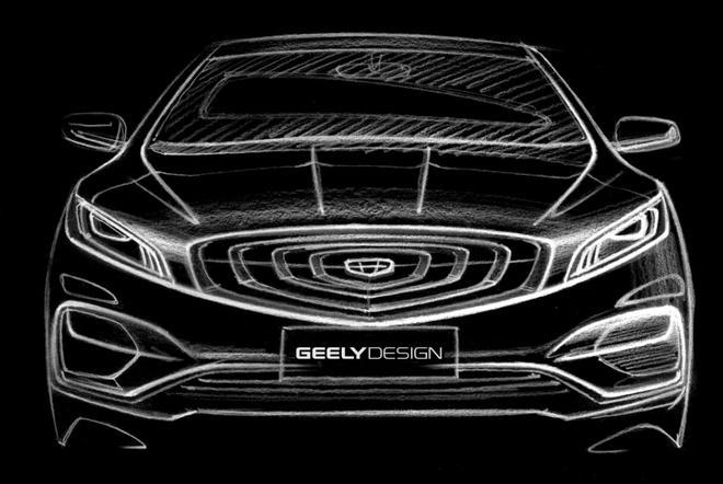 """曝吉利""""K车型""""整车设计图 或定名博瑞GT"""