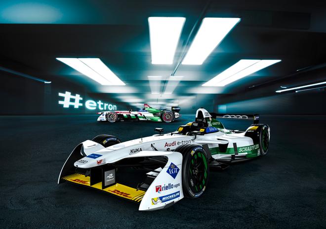 告诉你什么是纯正的赛道基因 奥迪征战Formula E