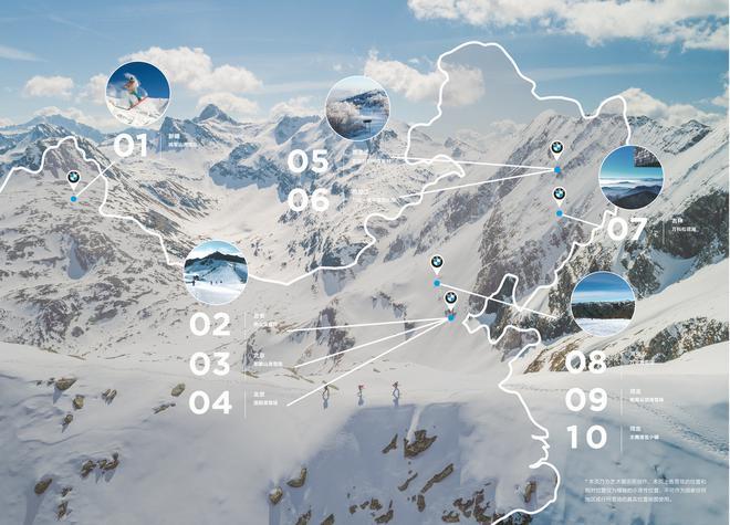 寶馬已經與國內10家星級滑雪場建立合作關係