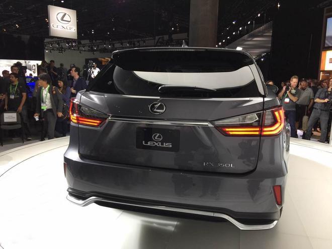 2017洛杉矶车展:雷克萨斯RX350L首发