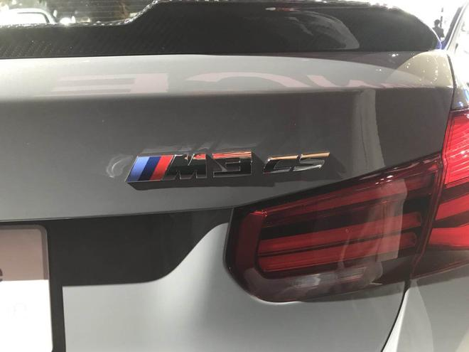 2017洛杉矶车展:宝马M3 CS正式亮相