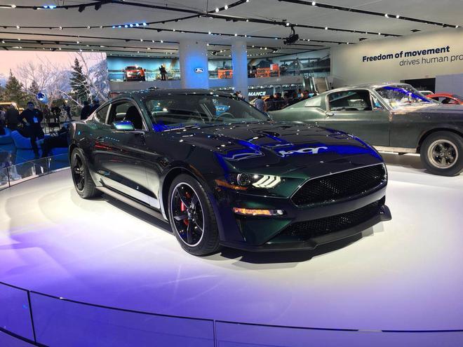 2018北美车展:福特Mustang Bullitt