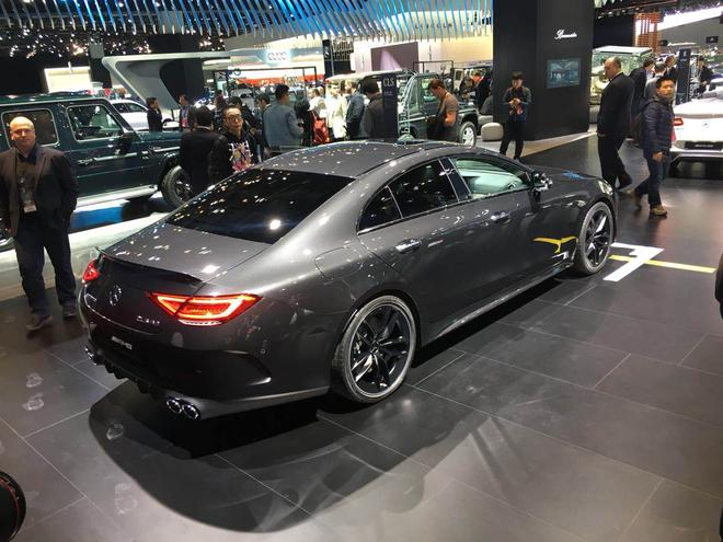 2018北美车展:梅赛德斯-AMG CLS 53亮相