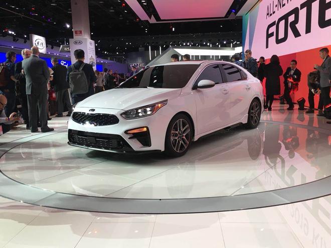 2018北美车展:起亚发布全新Forte
