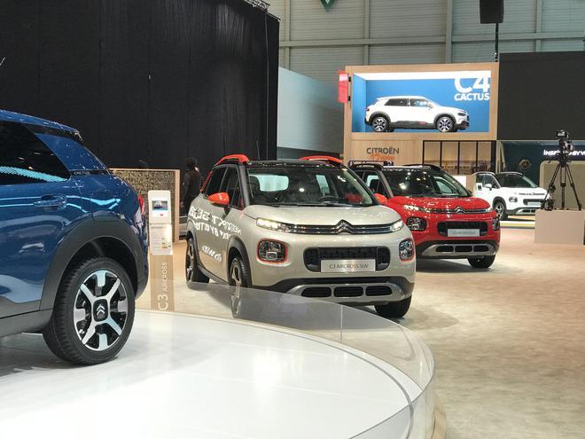 2018日内瓦车展探馆:雪铁龙新款C4 Cactus