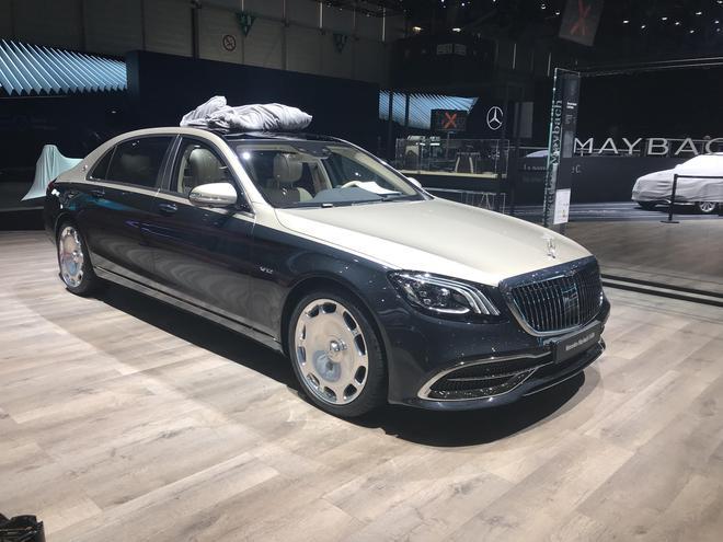 2018日内瓦车展探馆:新款迈巴赫S级