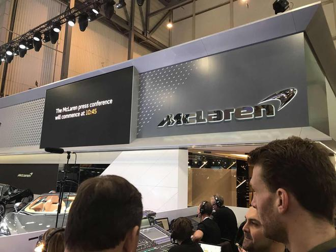 2018日内瓦车展:迈凯伦Senna GTR概念车