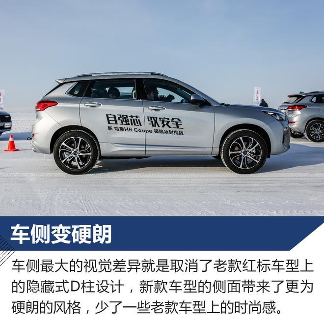 挑战白色竞技场 冰雪试驾哈弗H6 Coupe