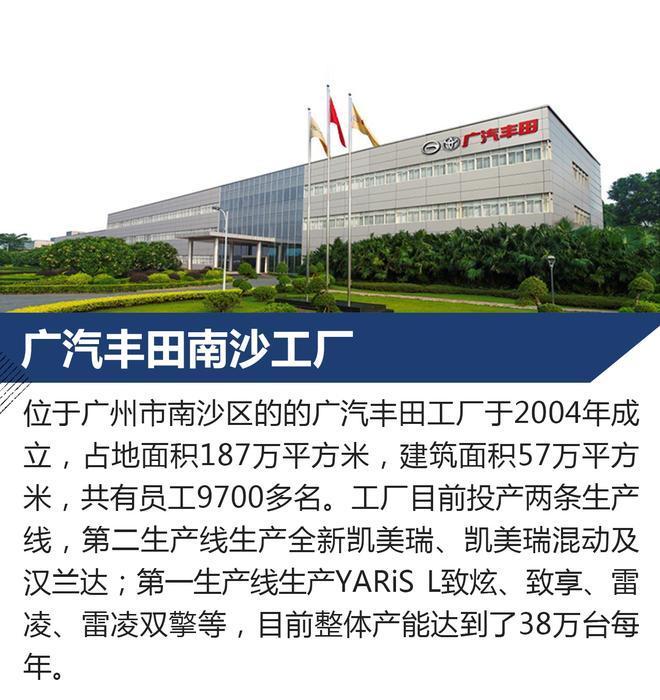 探访广汽丰田南沙工厂 全新凯美瑞诞生地