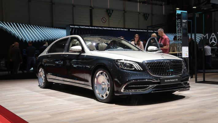 王者之车 日内瓦车展实拍解析迈巴赫S级