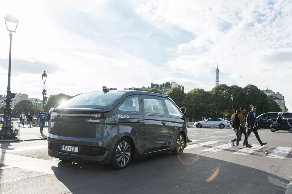Autonom Cab自动驾驶出租车
