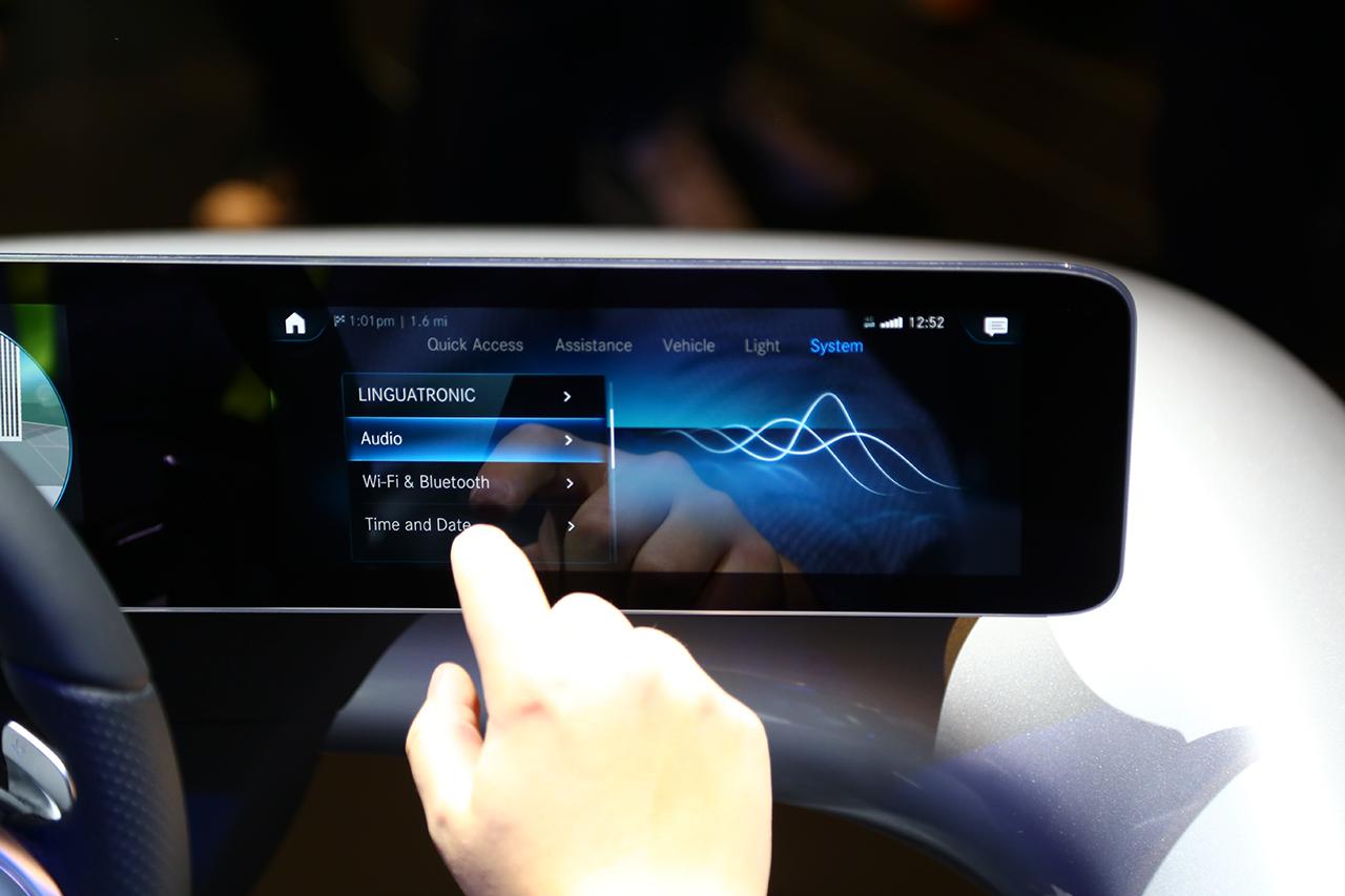全新人机交互系统支持触控