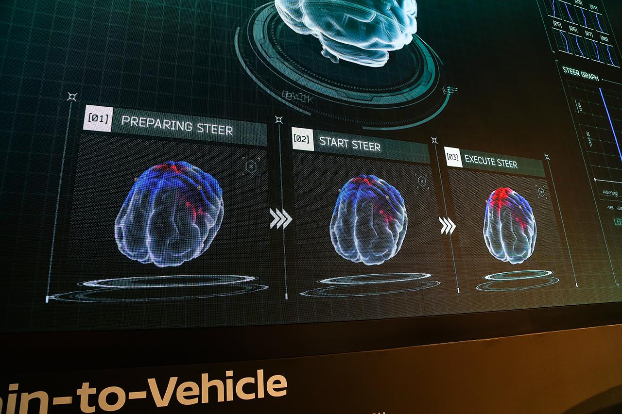 2018CES:日产发布脑控技术实现人车合一