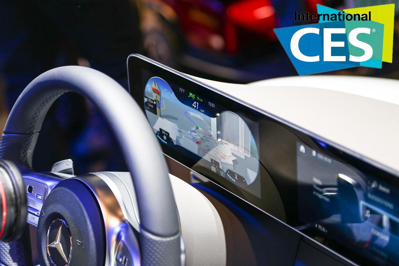 2018CES:奔驰全新人机系统大屏支持触控