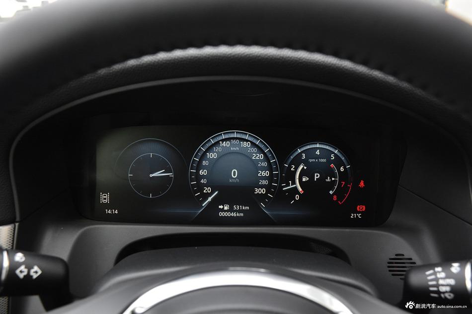 实拍 新款捷豹XFL 2.0T高功率版 换装新发动机