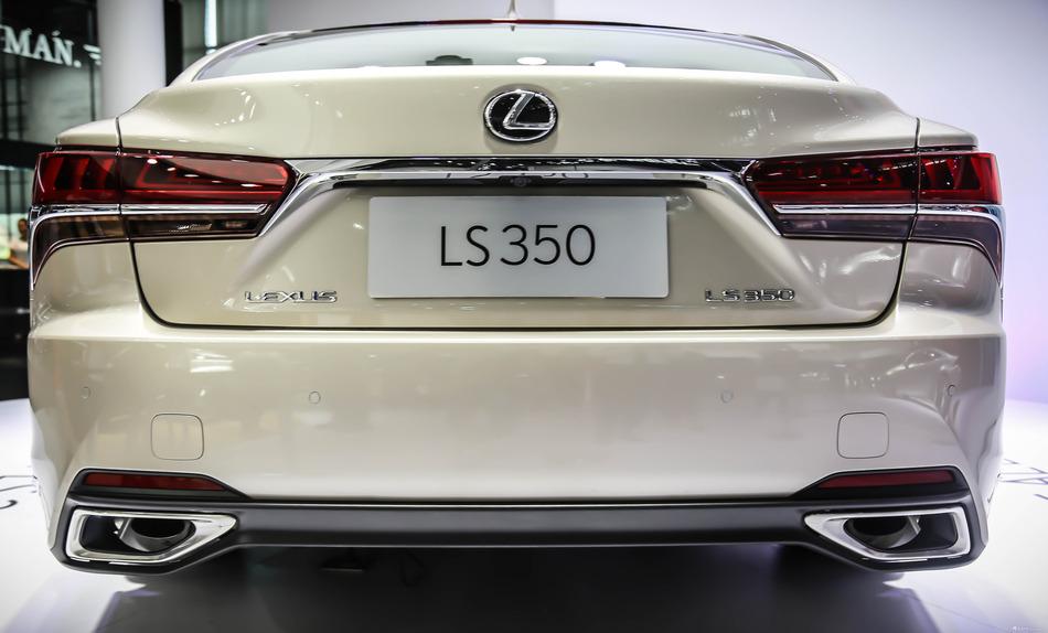 雷克萨斯LS350全球首发 顶级旗舰下探到百万以下!