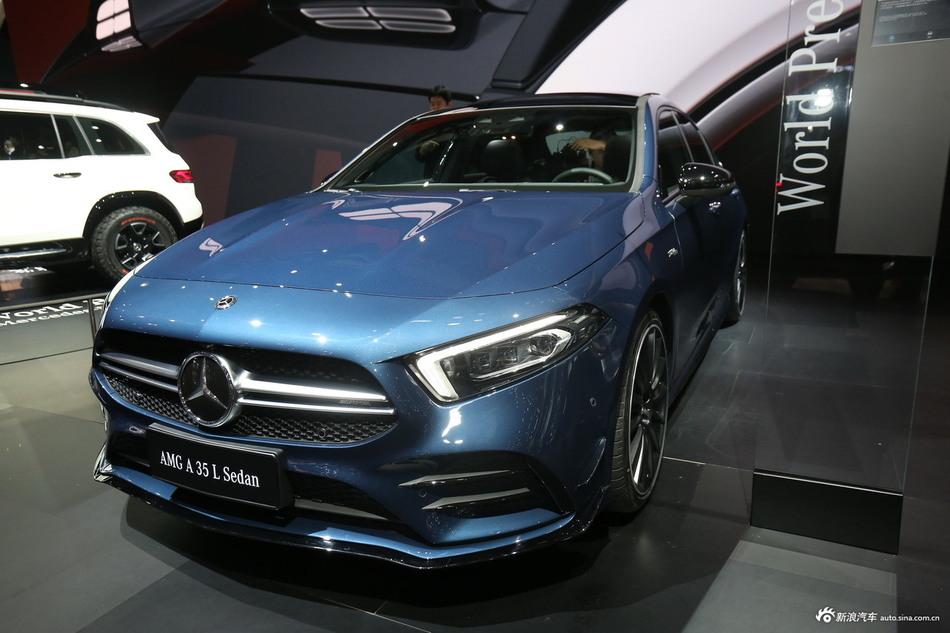 2019上海车展实拍:AMG A 35L