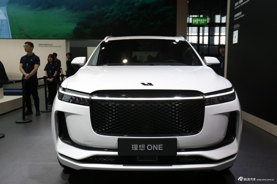 2019上海车展实拍:理想ONE新能源
