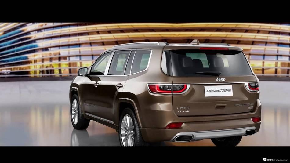 图集|比宝马X5大两圈  Jeep全新7座SUV年中上市