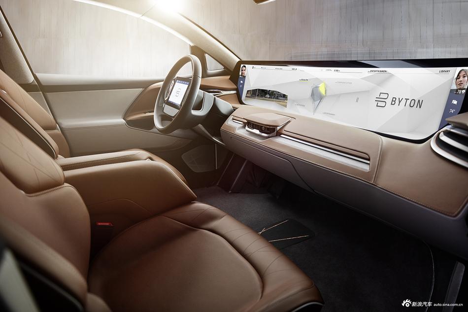 图集|刷脸开门配全球最大屏  拜腾首款车型发布