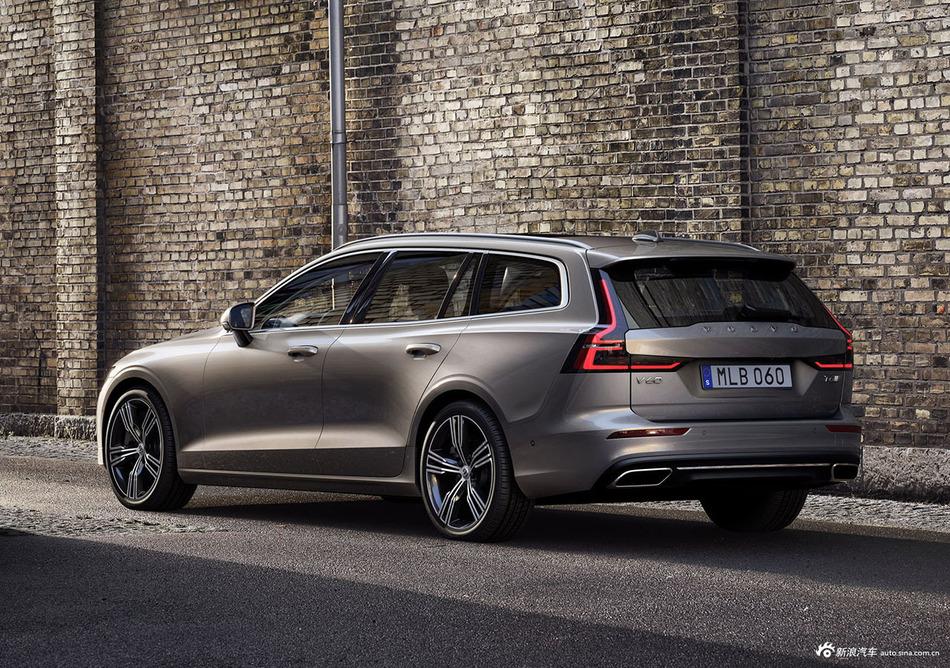 图集|全新沃尔沃V60发布 将在今年8月上市