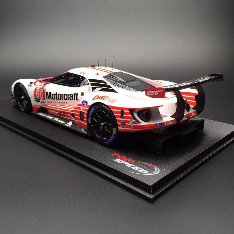 精美汽车图集:top Speed福特gt新配色