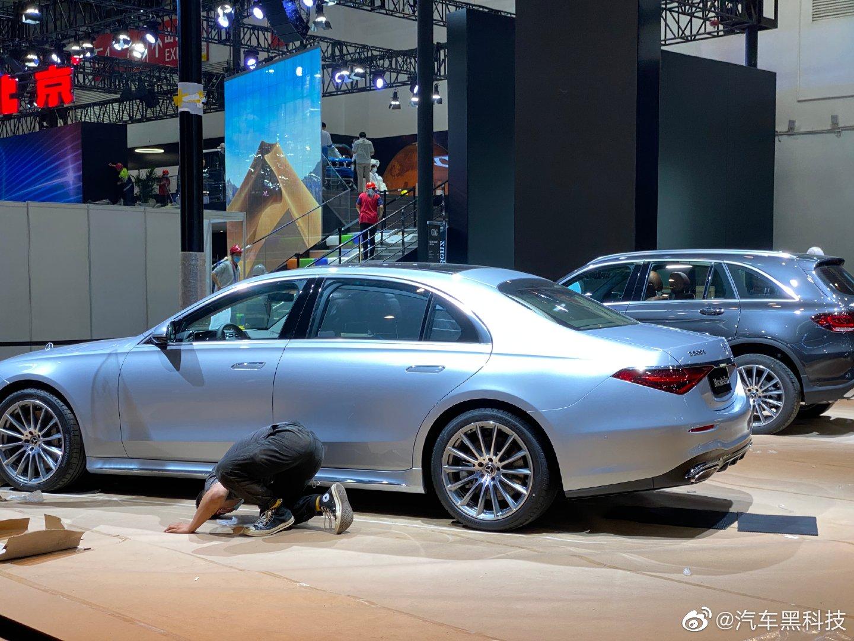 2020北京车展探馆:新款国产奔驰E级