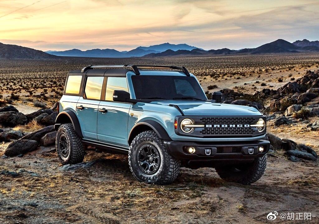 精美汽车图集:大家都很喜欢Bronco吧