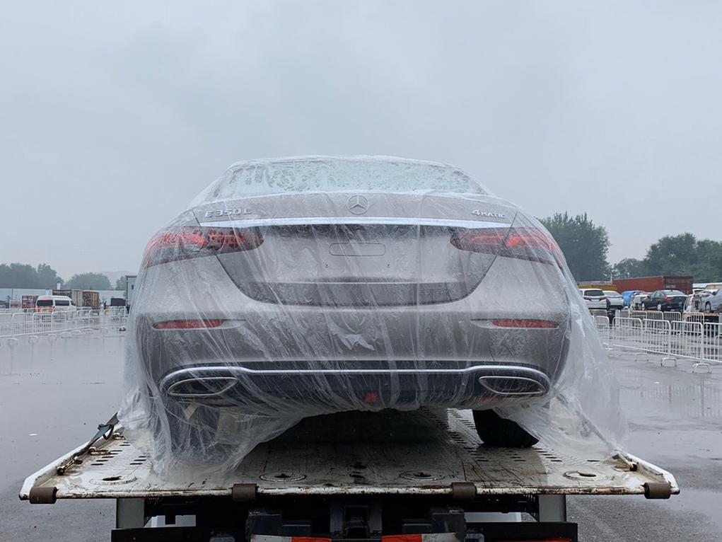 450 4MATIC 轿跑版,新款北京奔驰E级,实车到场!