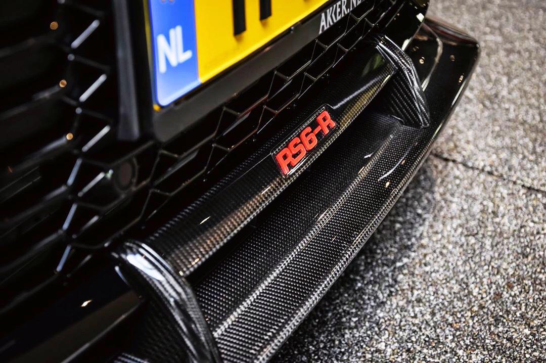 以后奥迪RS6就是我的奋斗目标了!