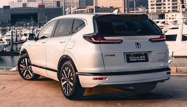 本田皓影Breeze:紧凑型SUV,起价17万