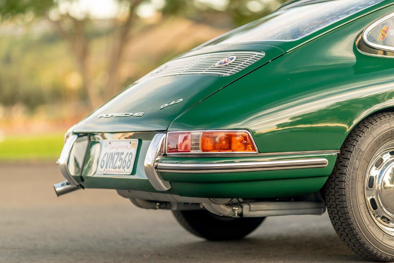 1965年Porsche 912 Coupe绿蛙