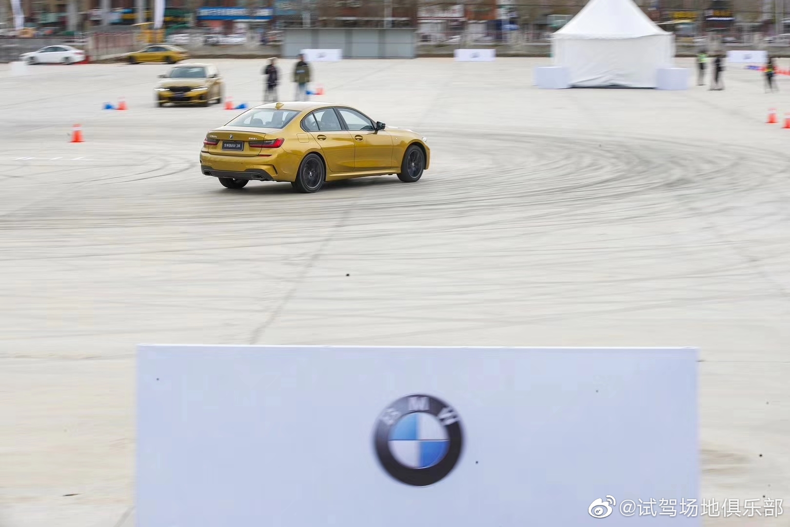 全新BMW 3系媒体试驾会,沈阳试驾场地