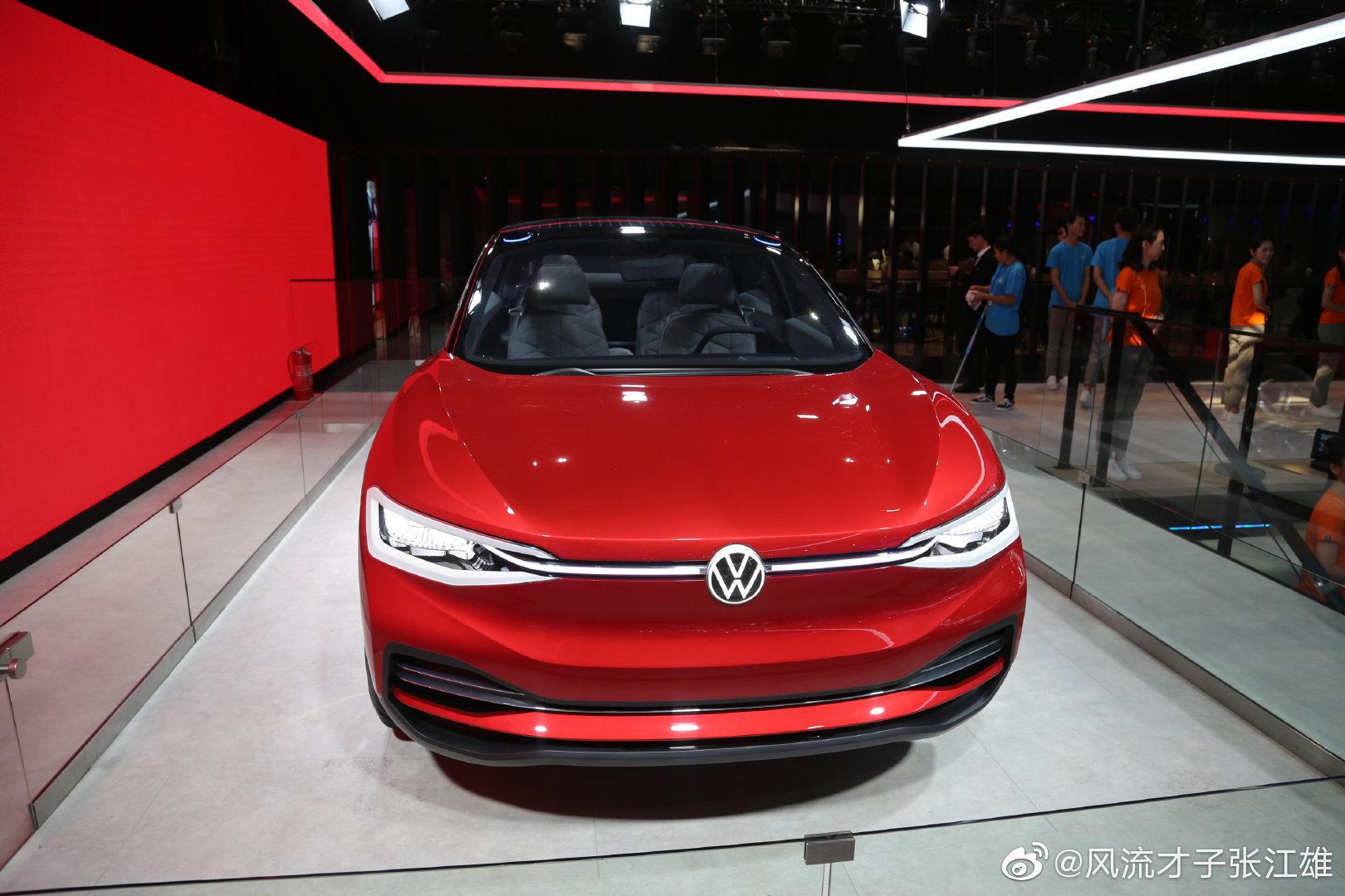 大众未来概念车,这颜值如何?