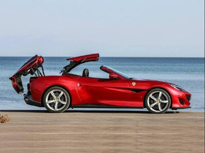 法拉利Portofino敞篷GT跑车,太酷了!