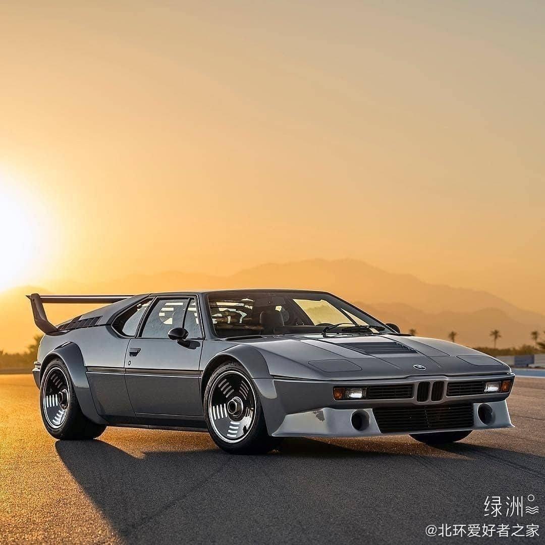 1970年代宝马M1 E26,艺术品!