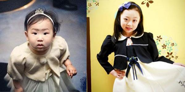 金喜善女儿长大变美
