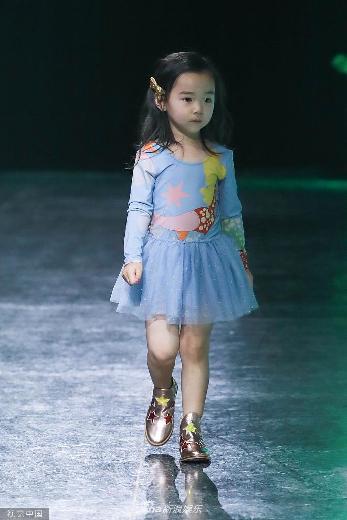 19中国国际儿童时装周,董璇