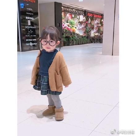 日本一岁小女孩Ruu走红