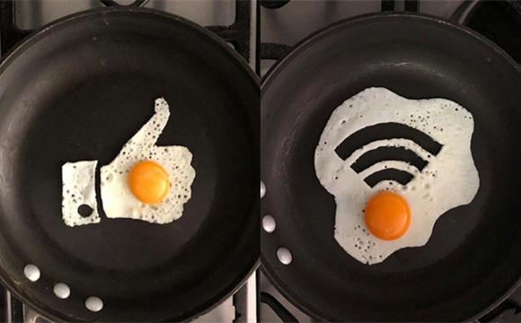 妈妈给宝宝做的创意煎蛋
