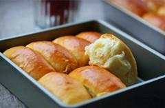 超级柔软的甜面包--福气排包(图)