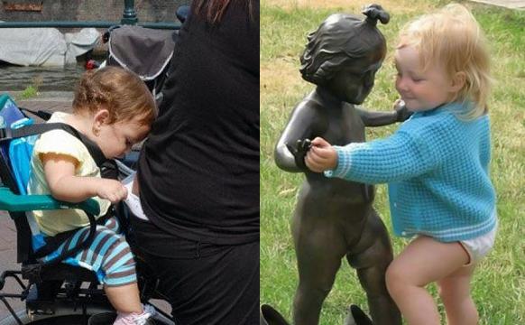 每个宝宝都是搞笑天使!