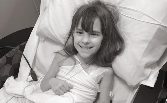 患癌女孩离世 家人写下她一年的故事