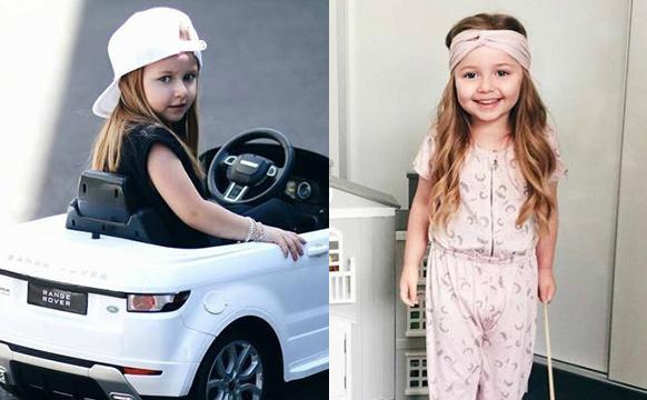 澳大利亚奶爸给5岁女儿的穿搭