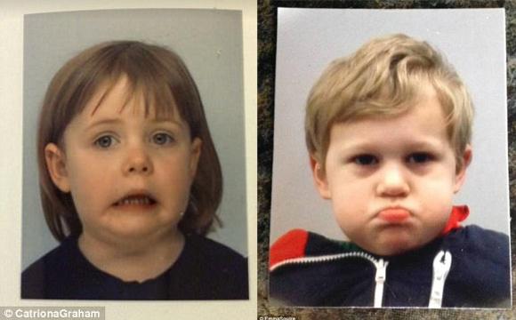 不准哭也不准笑 宝宝的护照照片是什么样的